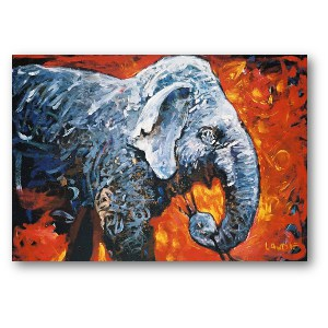 Lewis Lavoie Art: Lucy Elephant Reproduction