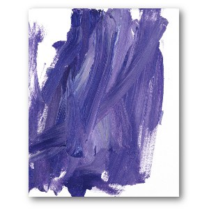 Lucy's Art: Purple Mess