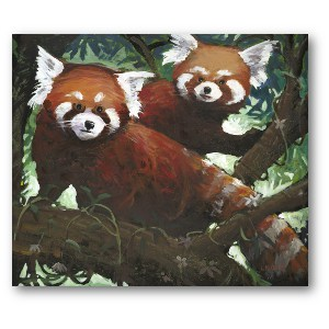 Lewis Lavoie Art: Red Panda