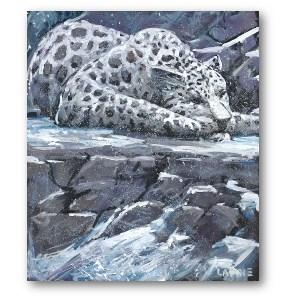 Lewis Lavoie Art: Sherri Snow Leopard