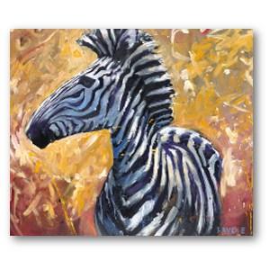 Lewis Levoie Art: Zebra