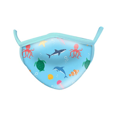Wild Republic Kid's Face Masks: Aquatic