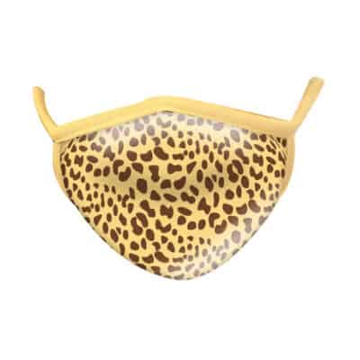 Wild Republic Adult Face Masks: Cheetah Print