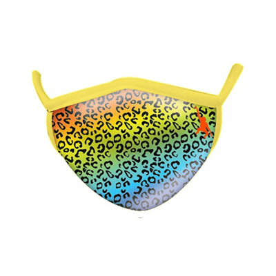 Wild Republic Face Masks: Rainbow Leopard