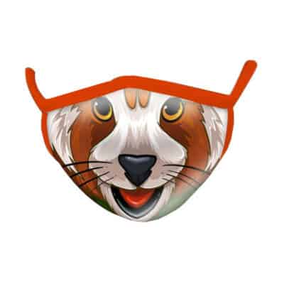 Wild Republic Adult Face Masks: Red Panda