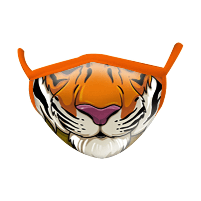 Wild Republic Kid's Face Masks: Tiger