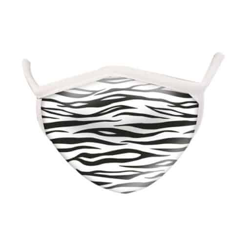 Wild Republic Face Masks: Zebra Print
