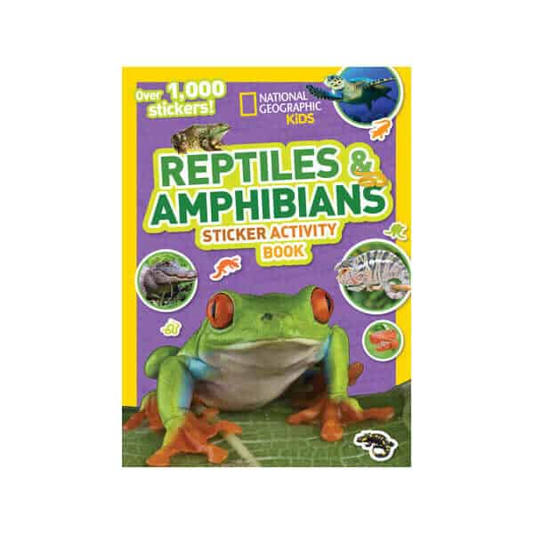 National Geographic Kids Reptiles & Amphibians Sticker Activity Book