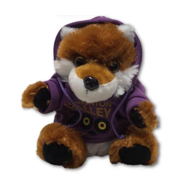 Red Fox with Purple EVZ Custom Hoodie