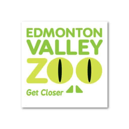 EVZ Snake Logo Magnet (Green)