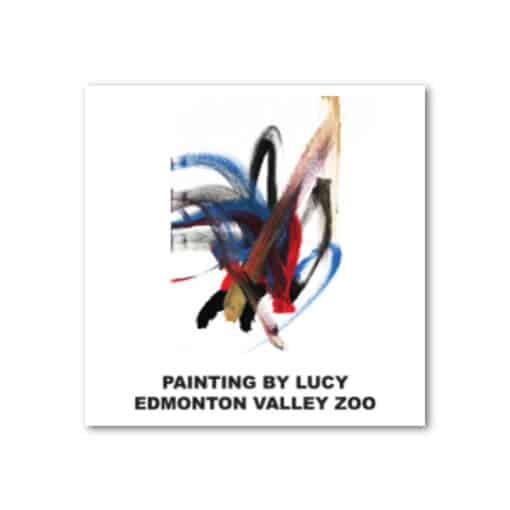 EVZ Lucy Painting Magnet