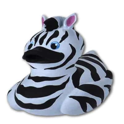 WR Rubber Duck - Zebra