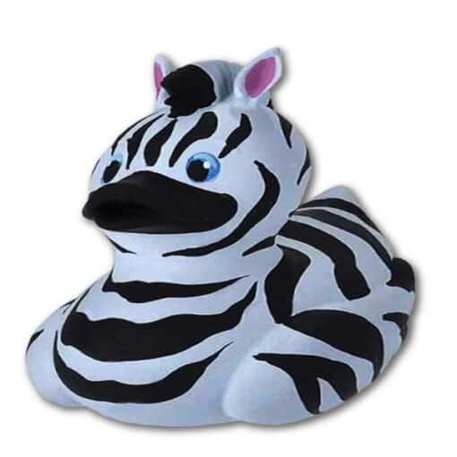 WR Rubber Duck - Zebra