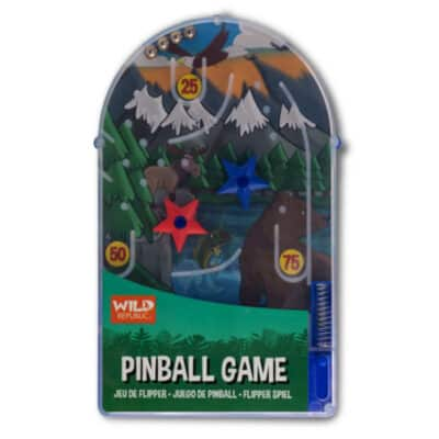 Wild Republic Wildlife Pinball Game
