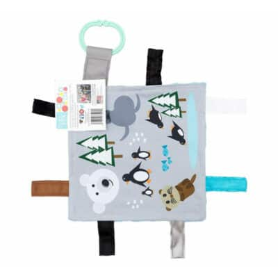 Baby Jack Arctic Animal Crinkle Square