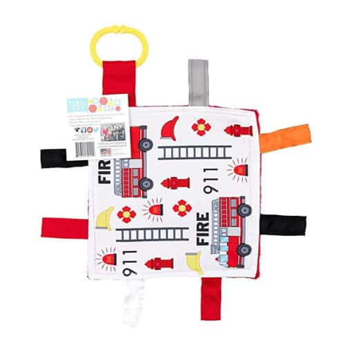 Baby Jack Fire Truck Crinkle Square