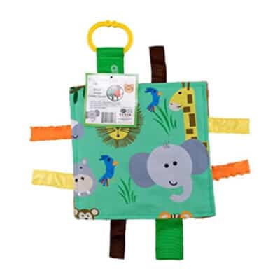 Baby Jack Jungle Crinkle Square