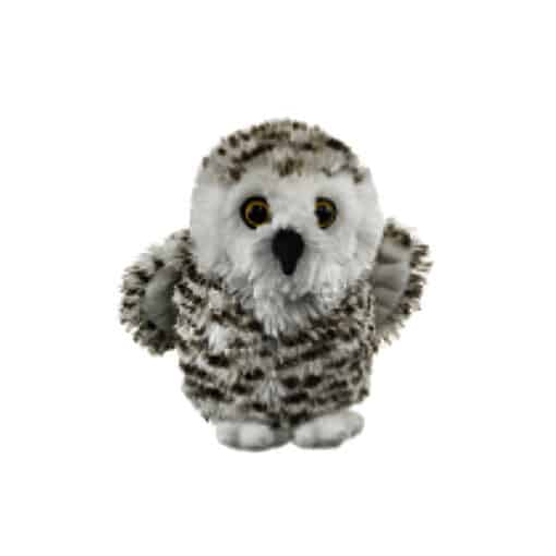 """Conservation Critters Snowy Owl 7.5"""""""