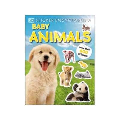 Sticker Encyclopedia of Baby Animals