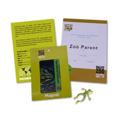 $75 Adopt an Animal Northern Leopard Frog