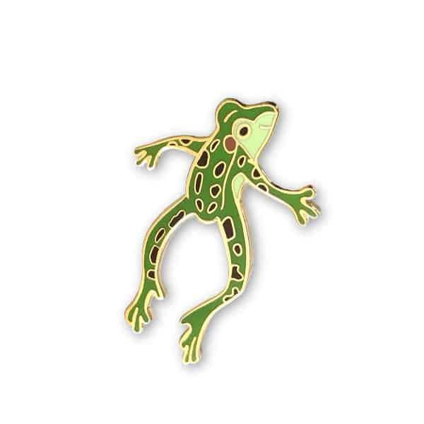 northern leopard frog pin